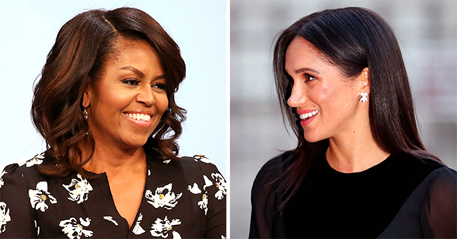 Meghan Markle Left 'Speechless' by Michelle Obama's Advice on Motherhood