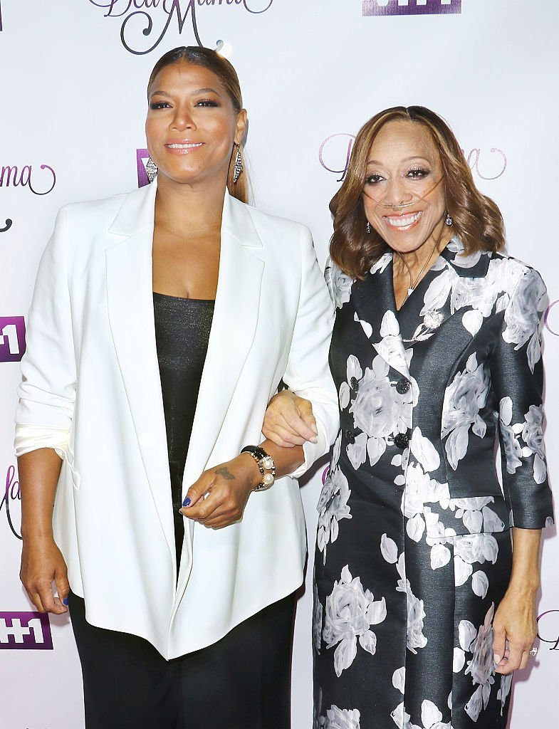 "Queen Latifah and her mother Rita Owens attends the VH1's ""Dear Mama"" taping at St. Bartholomew's Church on May 2, 2016 