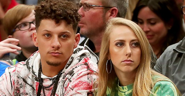 NFL Star Patrick Mahomes' Fiancée Brittany Matthews Sweetly Matches with Her Baby in Pink PJs