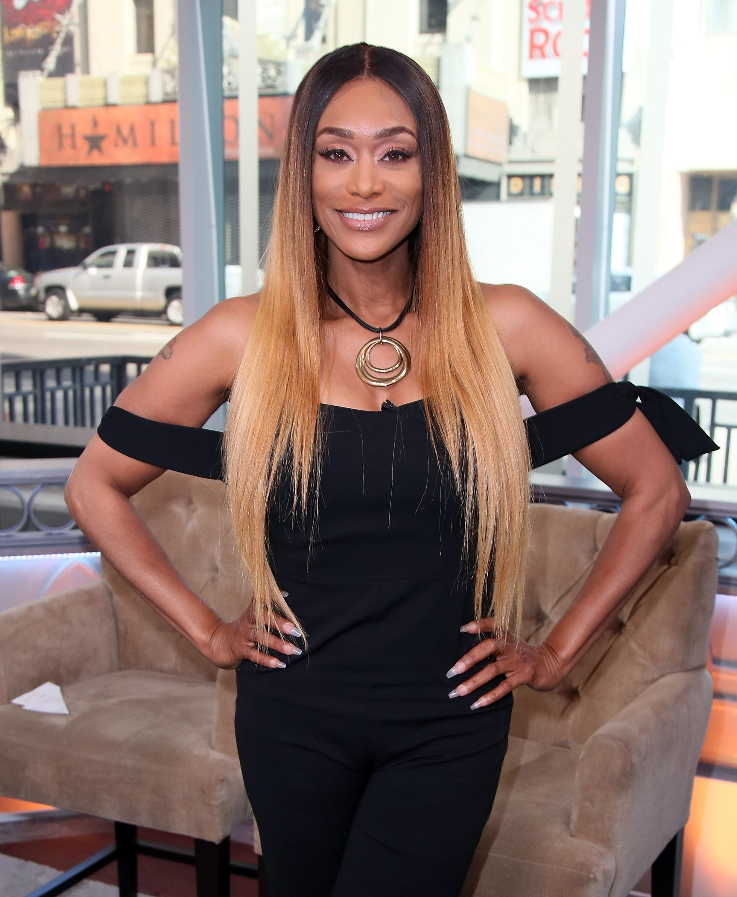 TV personality Tami Roman visits Hollywood Today Live at W Hollywood on March 27, 2017 | Photo: Getty Images