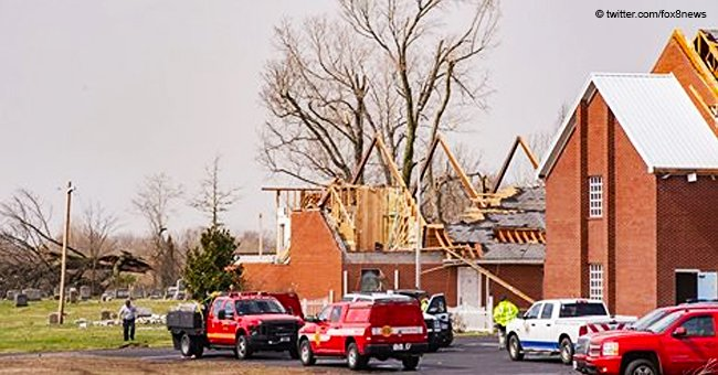 Preschoolers Get Together to Sing 'Jesus Loves Me' as Tornado Rips Roof from a Kentucky Church