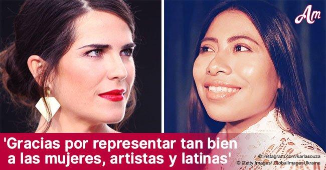 El sentido mensaje de Karla Souza a la actriz nominada al Oscar, Yalitza Aparicio