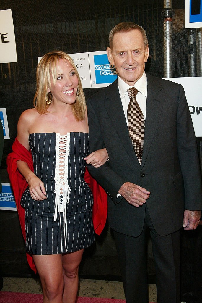 "Tony Randall and wife Heather at the ""Down With Love"" world premiere on May 6, 2003 