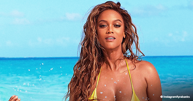 Tyra Banks Makes Modeling Return with 3rd Sports Illustrated Cover