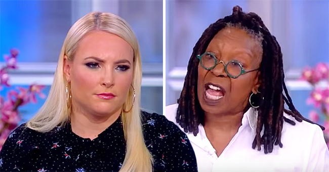 Meghan McCain and Whoopi Goldberg Get in a Heated Debate over Abortion