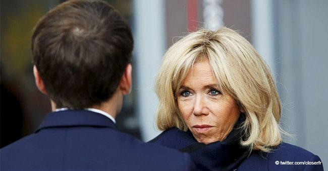 Brigitte Macron réagit à une provocation publique d'un utilisateur de Facebook qui lui est adressée