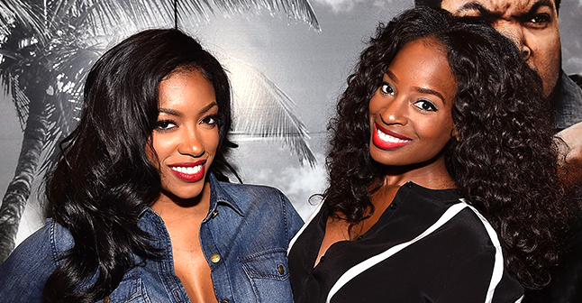 Porsha Williams from Rhoa Went with Friend Shamea Morton on Las Vegas Trip with Their Adorable Daughters