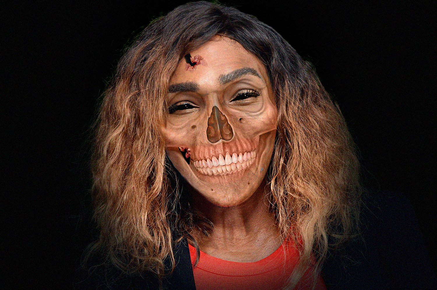 Serena Williams as a zombie | Source: Getty Images