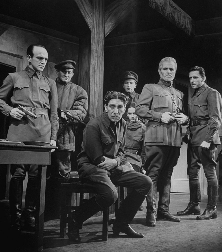 Leon Ames (right) and co-actors in 1942 Russian People. | Photo: Getty Images