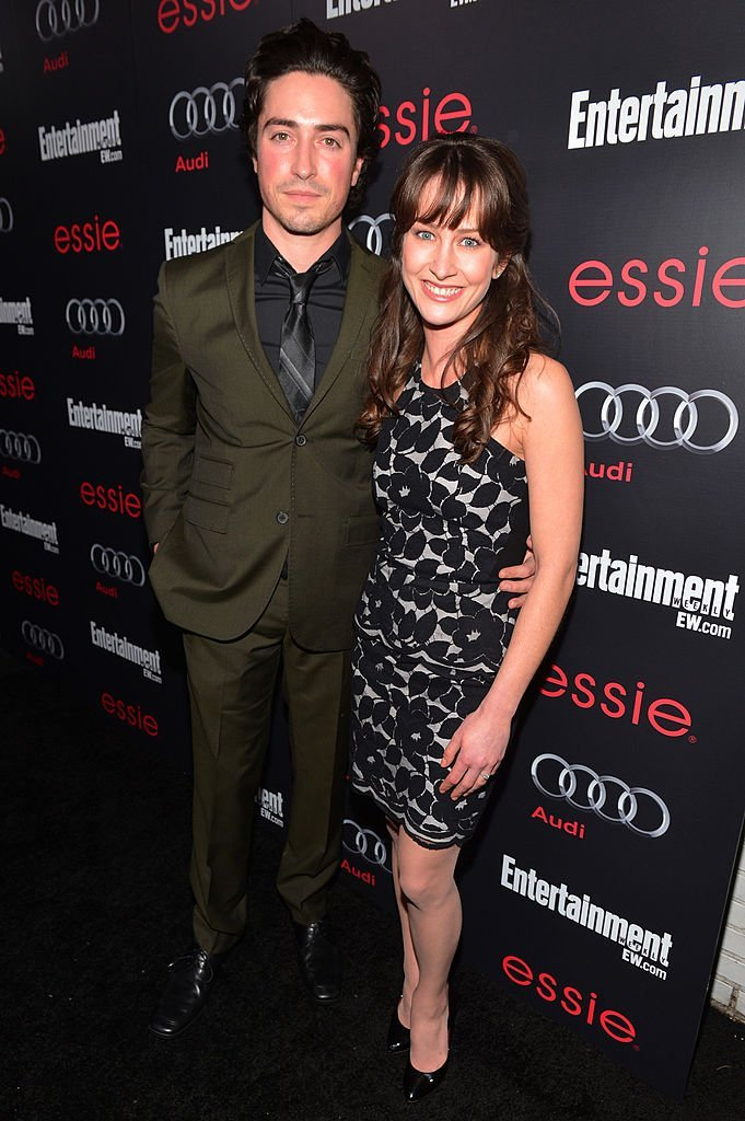 Ben Feldman and Michelle Mulitz attend the Entertainment Weekly Pre-SAG Party. | Source: Getty Images