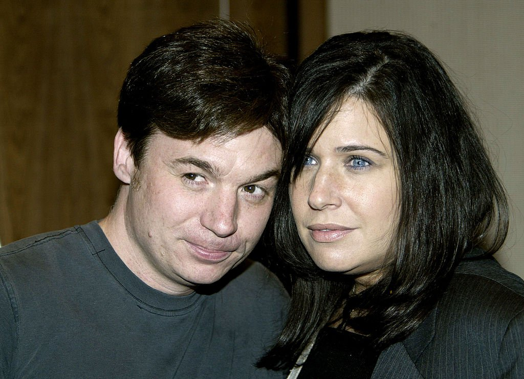 """Mike Myers and his ex-wife Robin at he premiere of """"The Hunting Of The President"""", June 2004 