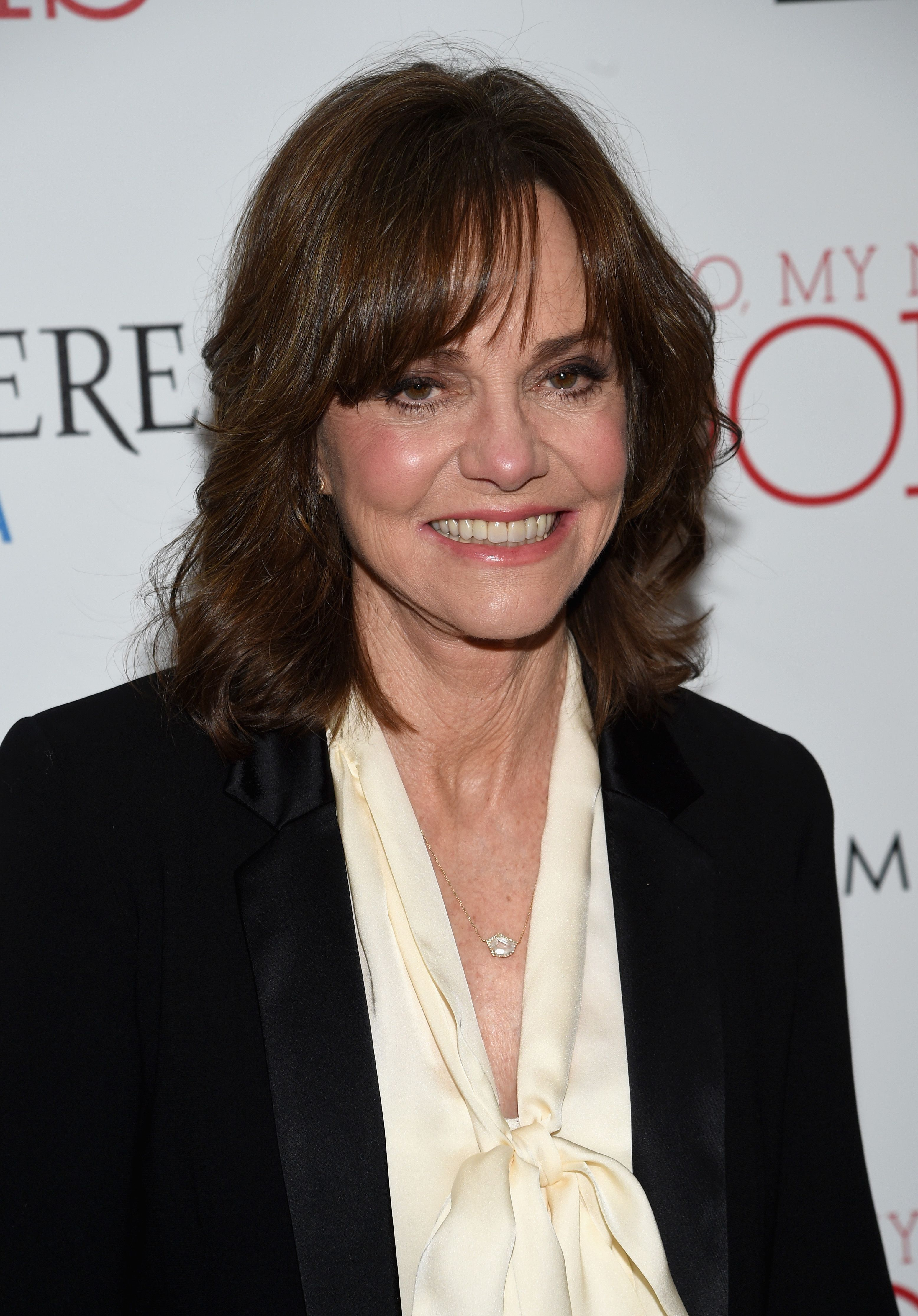 """Actress Sally Field arrives at the New York premiere of """"Hello, My Name Is Doris"""" hosted by Roadside Attractions with The Cinema Society & Belvedere Vodka at Metrograph on March 7, 2016 in New York City   Photo: Getty Images"""