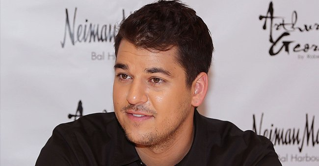Rob Kardashian Shows off a Sweet Pic of His Adorable Daughter Dream in Cool Pink Versace Hoodie