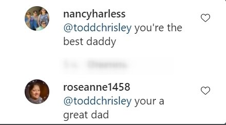 Some fans' comments on Kyle Chrisley's post on Instagram    Photo: Instagram/kyle.chrisley