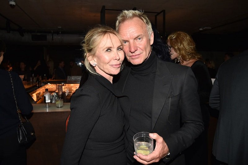Trudie Styler and Sting on January 10, 2018 in New York | Photo: Getty Images