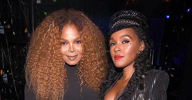 Janet Jackson Looks like Janelle Monáe's Twin as They Flaunt Black Outfits in a Stunning Snap