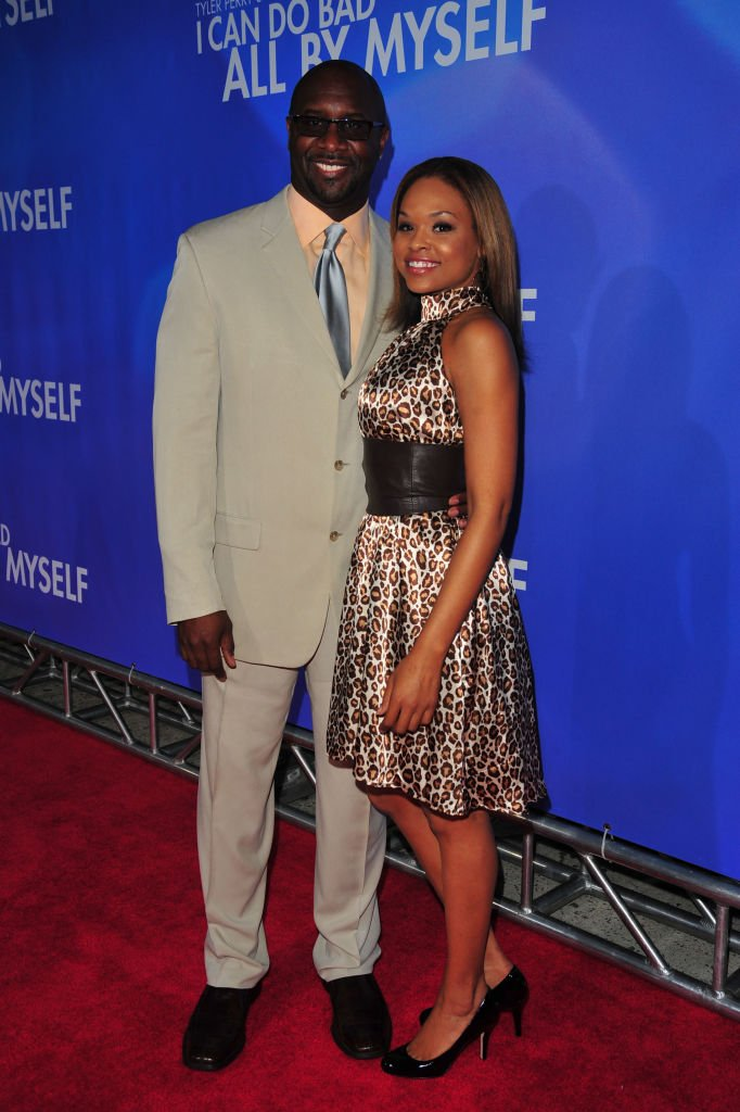 """Roger Bob and Demetria McKinney at the premiere of """"I Can Do Bad All By Myself"""" on September 8, 2009 in New York City.   Photo: Getty Images"""