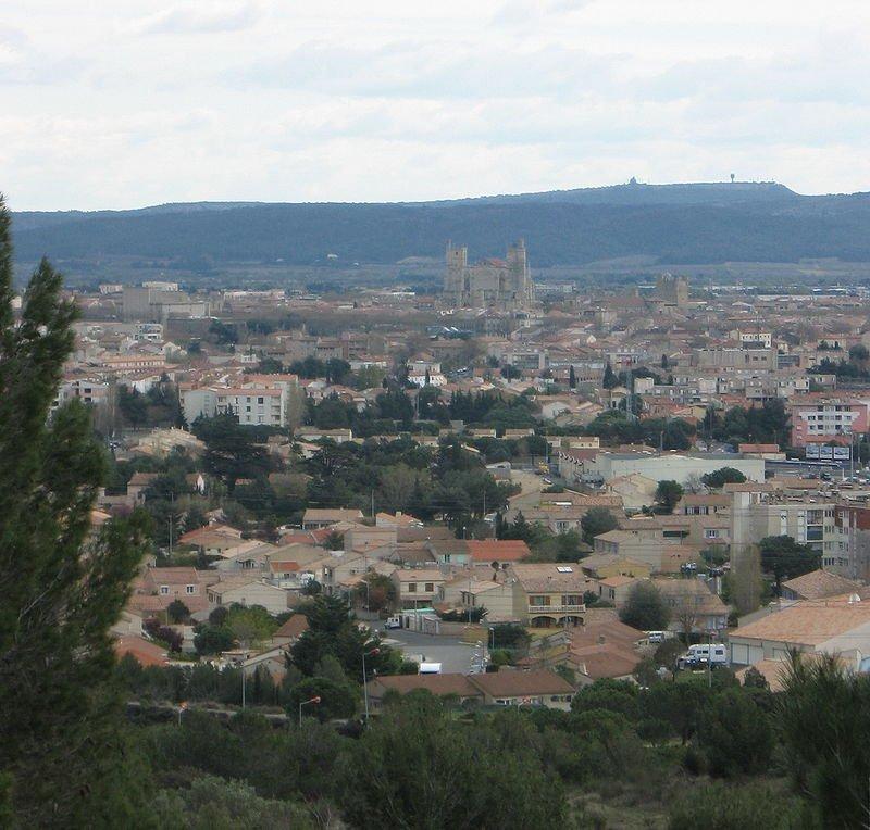 Vue sur la ville de Narbonne. | Wikimedia Commons