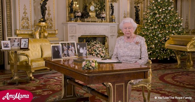 Queen shares video of annual Christmas speech, joking that the family keeps her 'well occupied'
