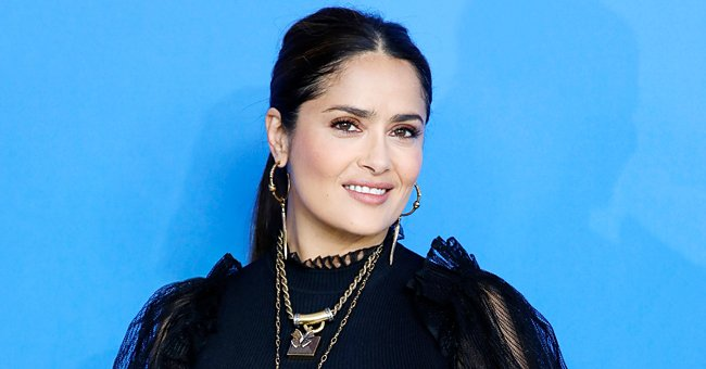 Salma Hayek Shares a Sweet Photo with Goldie Hawn in Honor of Her Birthday