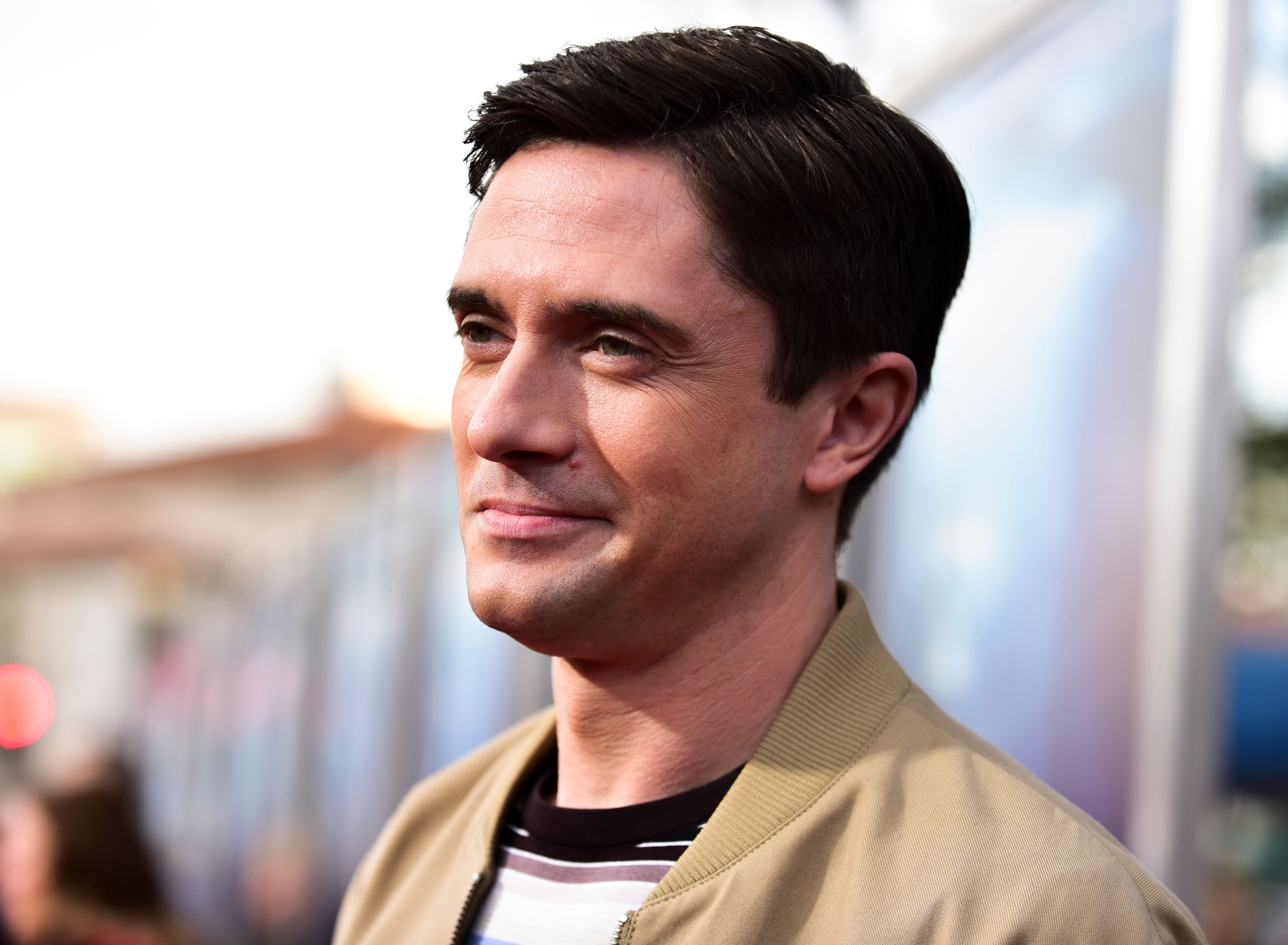"""Topher Grace attends the premiere of 20th Century Fox's """"Breakthrough"""" at Westwood Regency Theater on April 11, 2019 in Los Angeles, California. 