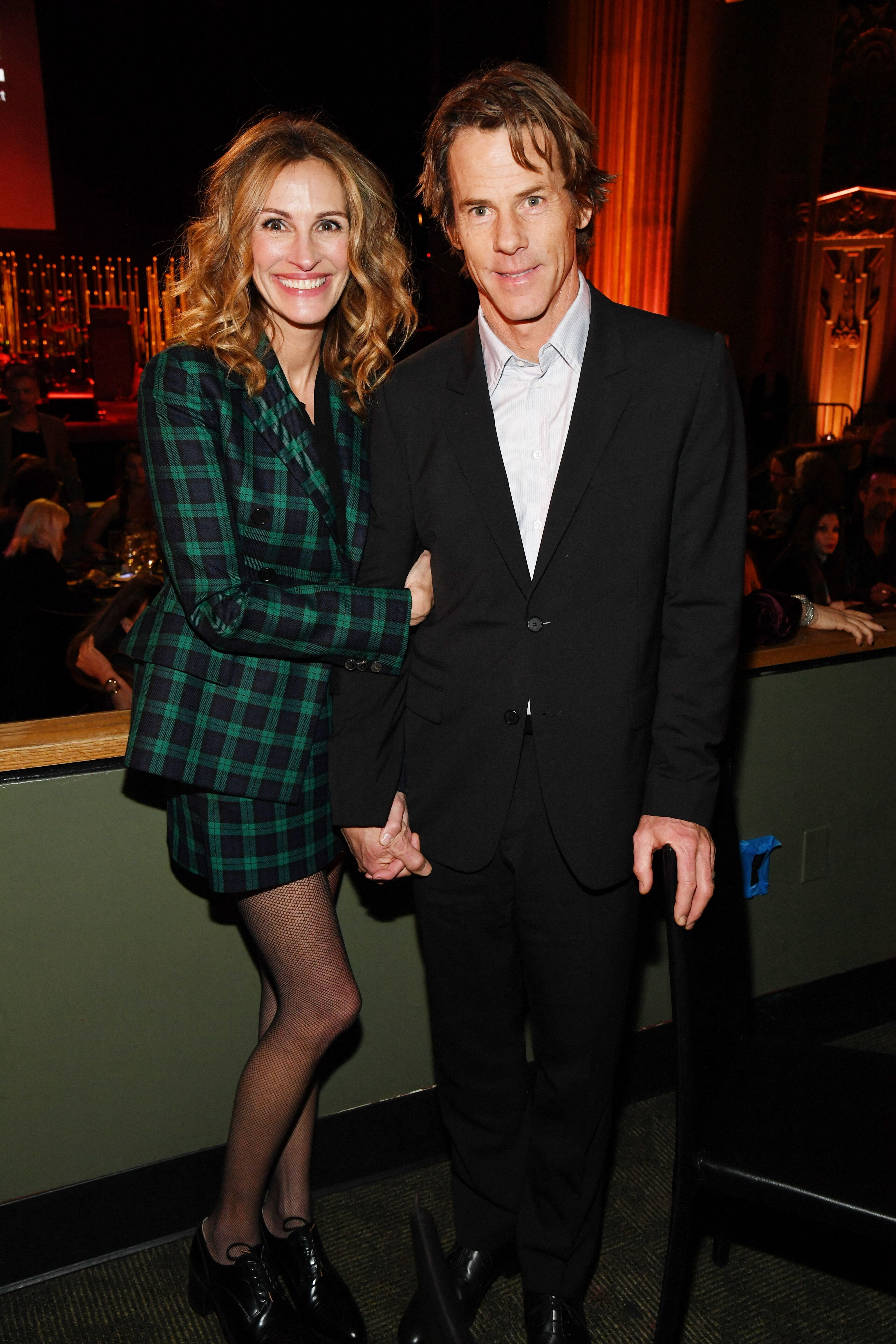Julia Roberts and Daniel Moder attend CORE Gala: A Gala Dinner to Benefit CORE  on January 15, 2020. | Photo: Getty Images