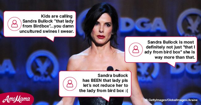 Sandra Bullock's fans at a loss after tweet of someone who didn't recognize 'That Lady from Bird Box'