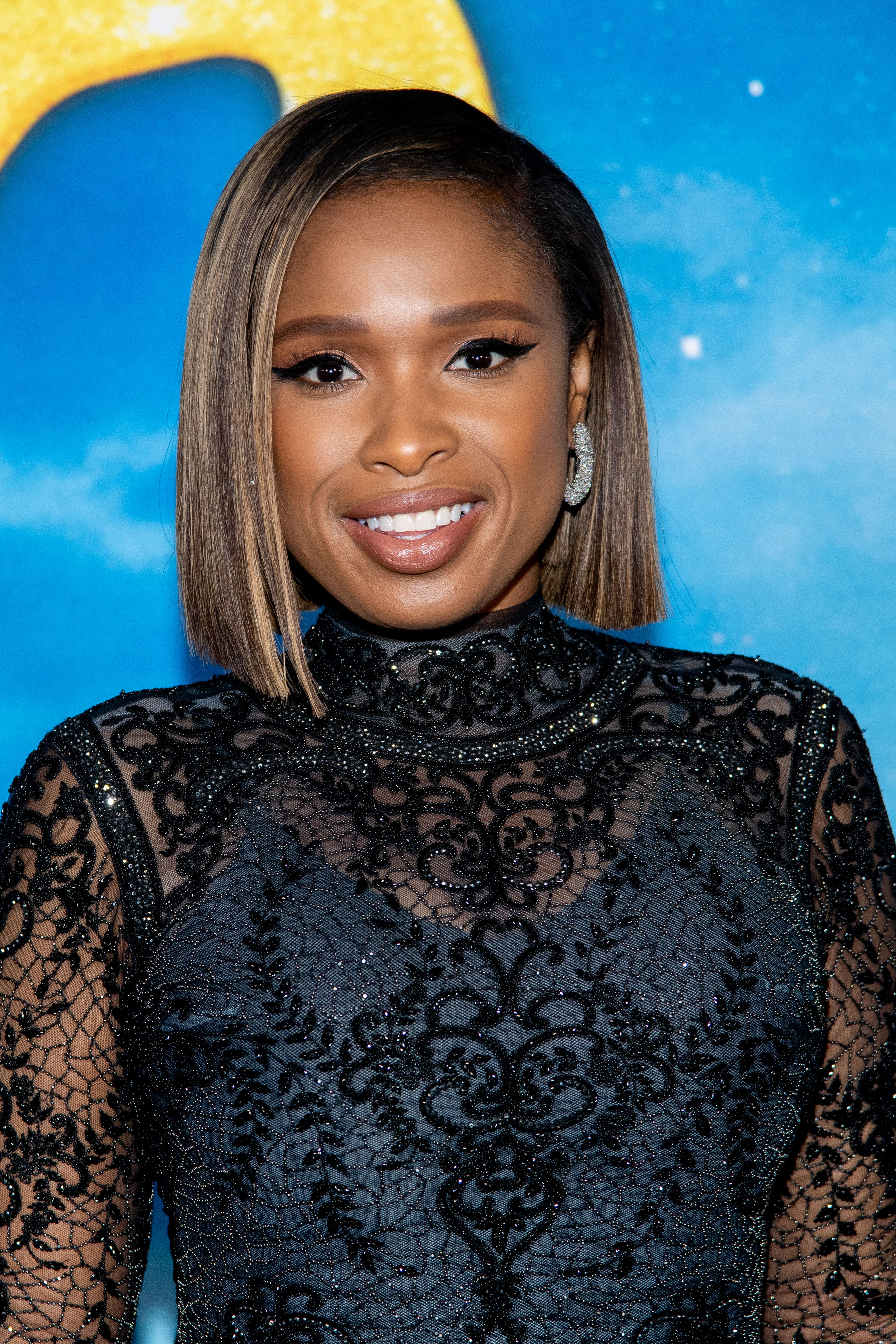 """Jennifer Hudson at the """"Cats"""" world premiere at Alice Tully Hall, Lincoln Center on December 16, 2019 in New York City 