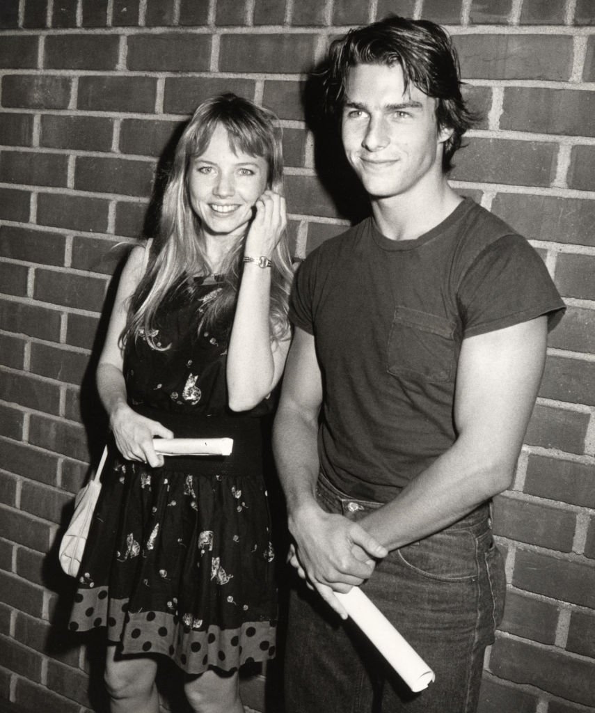 Tom Cruise und Rebecca De Mornay in der Director's Guild in Hollywood, Kalifornien (Foto von Ron Galella) I Quelle: Ron Galella Collection über Getty Images
