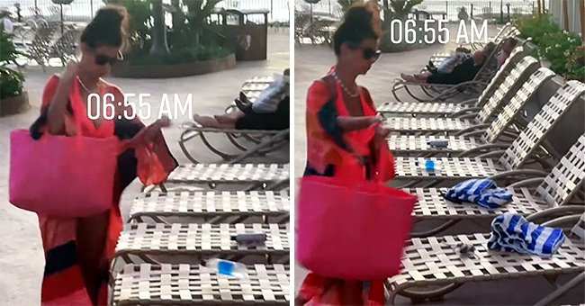 Woman Sparks Fury for Reserving Six Loungers with Water Bottles and Towels