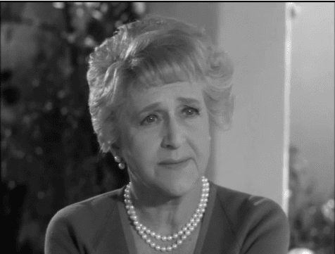 "Mabel Albertson in the TV show ""Burke's Law"" 