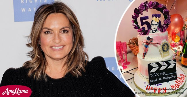 Mariska Hargitay reportedly thanks lady who made a women empowering cake for her 55th birthday