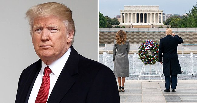 President Donald Trump Honors Fallen Soldiers on Memorial Day