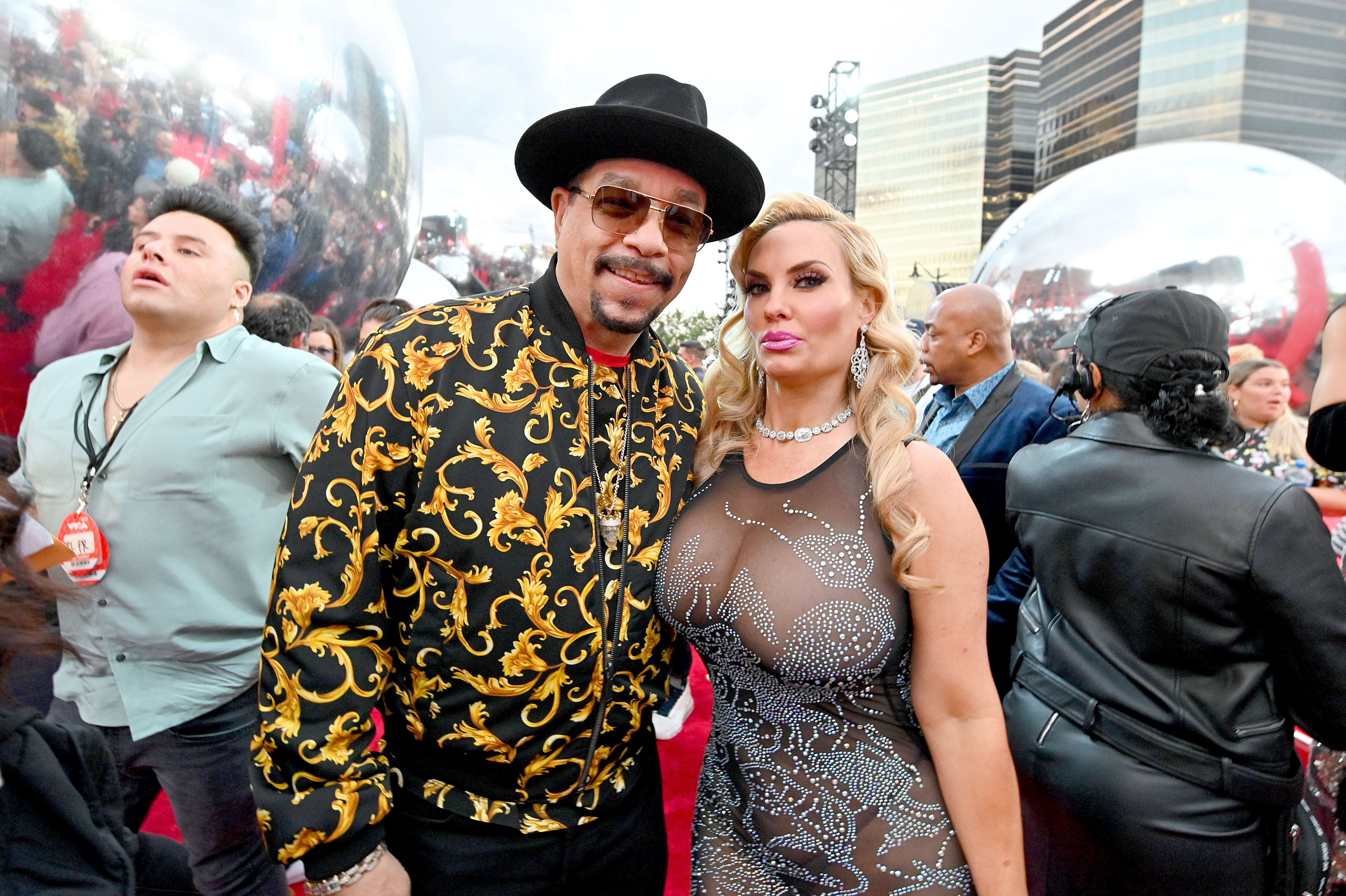 Ice-T and Coco Austin at the MTV Video Music Awards on August 26, 2019 in Newark. | Photo: Getty Images