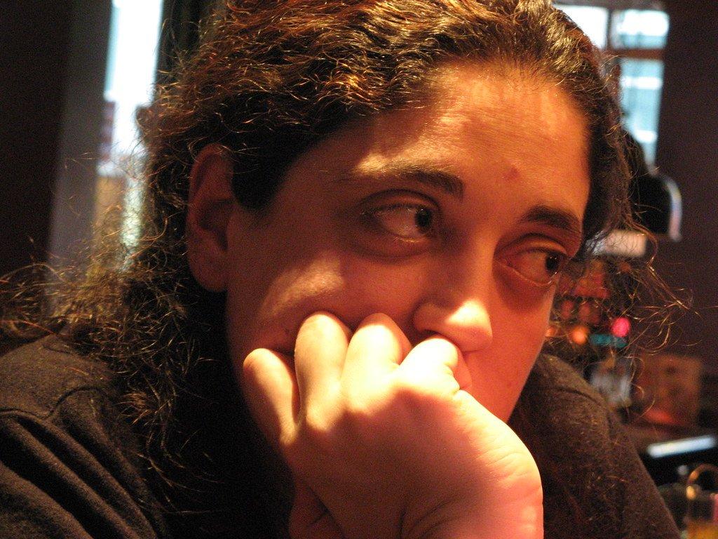 Femme épuisée. | Photo : Flickr