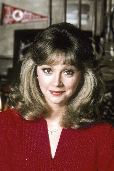 """Shelley Long acting as Diane Chambers on the NBC sitcom, """"Cheers"""" 