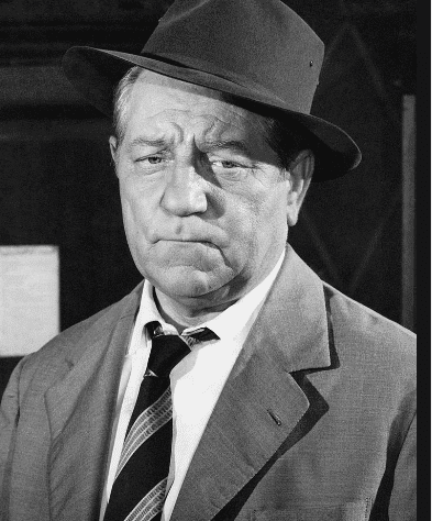 Jean Gabin porte un chapeau. Photo : Getty Images
