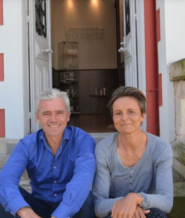 Muriel et son mari   Photo : Télé star