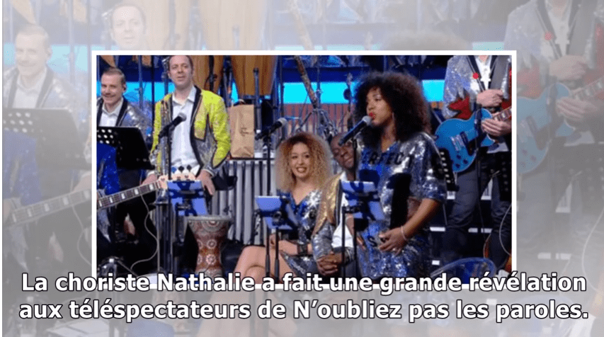 VIDEO N'oubliez pas les paroles : la choriste Nathalie dévoile le sexe de son bébé ! | Photo : Youtube/GUINEE PEOPLE