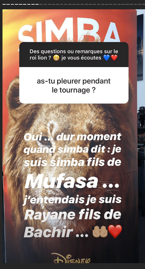 La journée de Rayane Bensetti du lundi 22 juillet 2019 sur Instagram | Photo : Instagram.com/rayanebensetti