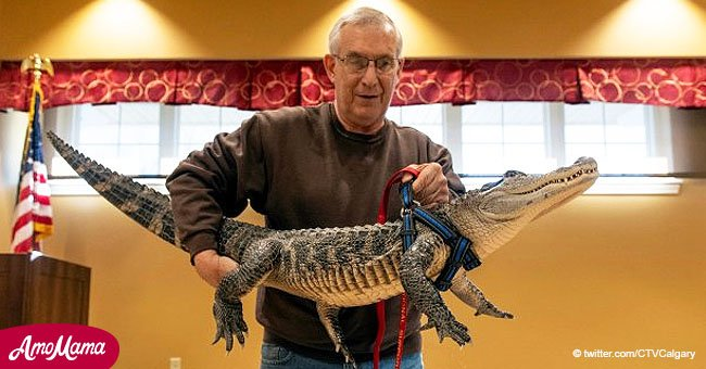 Man Says 5-foot-long Alligator Cures His Depression: 'He Likes To Give Hugs'