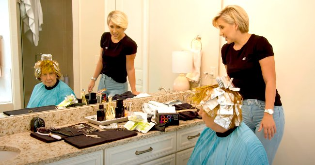 'Chrisley Knows Best' New Trailer Shows Savannah Chrisley Dyeing Nanny Faye's Hair Neon Color