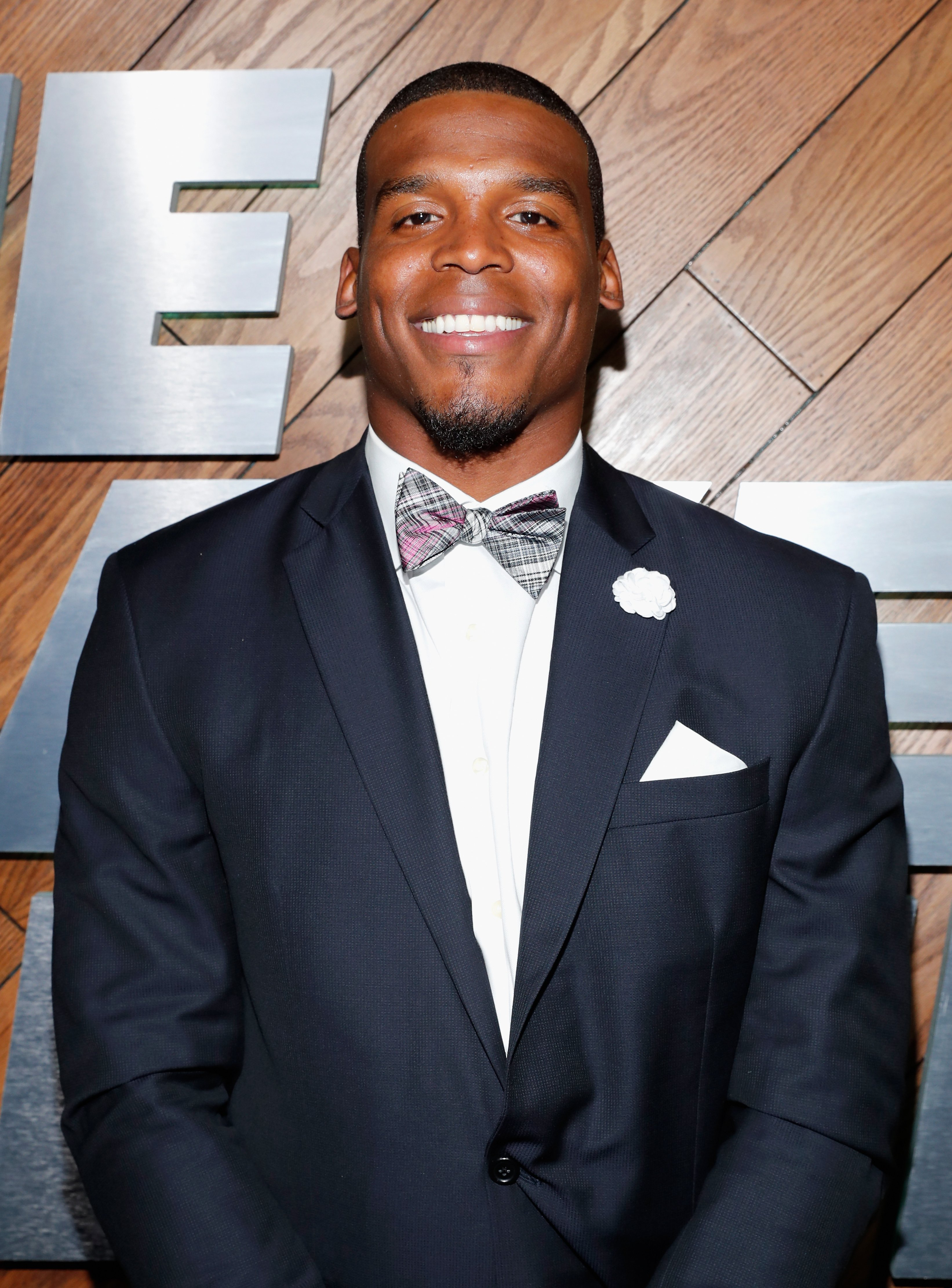 """Cam Newton attending the """"The Players' Tribune Summer Party"""" in July 2016. 