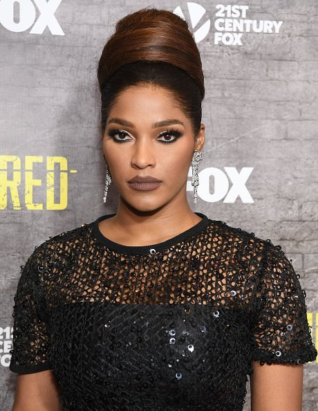 "Joseline Hernandez at the ""Shots Fired"" Atlanta screening in March 2017 