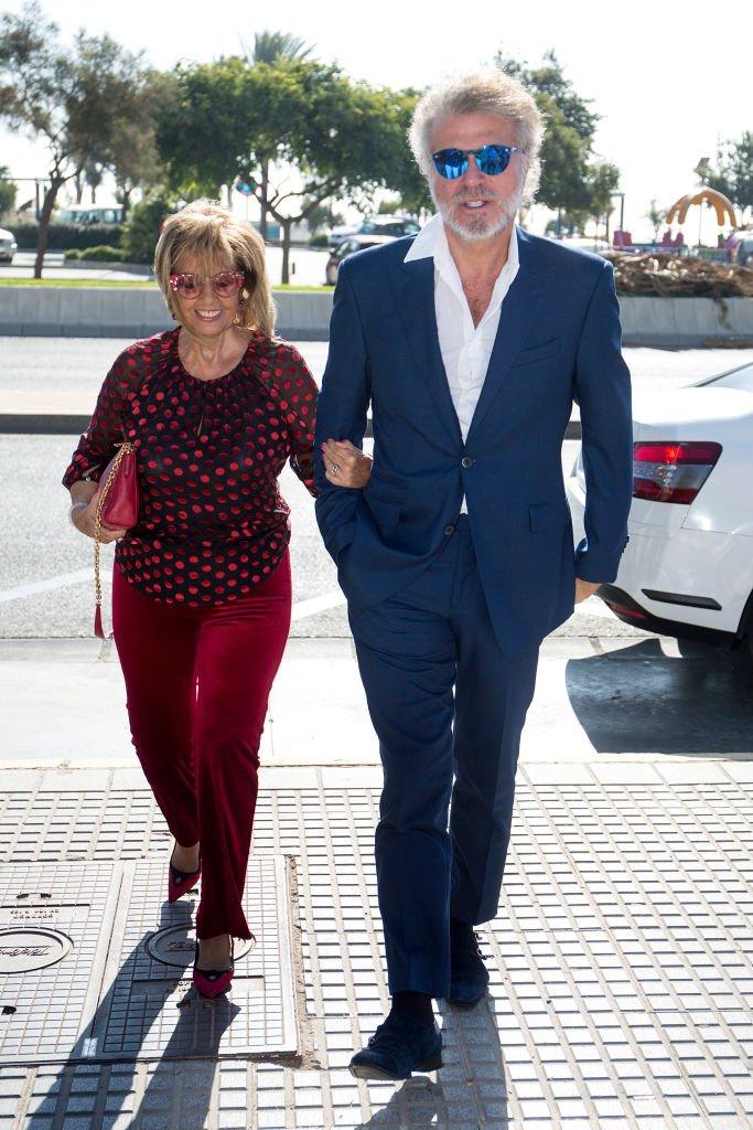 María Teresa Campos y Bigote Arrocet asisten al nombramiento de Dani Rovira y María Teresa Campos como hijos favoritos y adoptados de Málaga, el 26 de septiembre de 2017 en Málaga, España. | Imagen: Getty Images