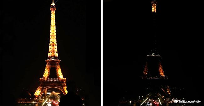 La tour Eiffel a éteint ses lumières en hommages aux victimes de l'attentat au Sri Lanka
