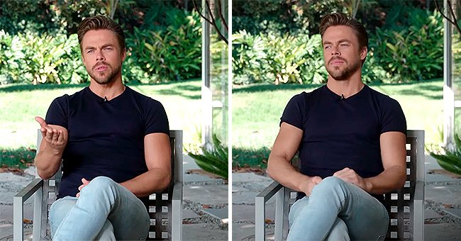 DWTS Judge Derek Hough Flaunts His Pumped-up Body for People Magazine's Sexiest Man Alive Issue