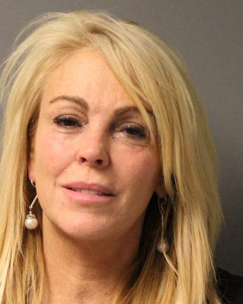 Dina Lohan's mugshot after her arrest for DWI, Driving While Intoxicated, and speeding in Oyster Bay, New York | Photo: New York State Police via Getty Images