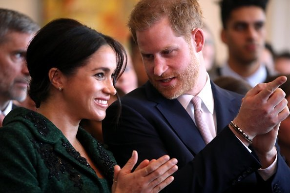 Meghan Markle and Prince Harry, Duke of Sussex attend a Commonwealth Day Youth Event at Canada House on March 11, 2019, in London, England.   Source: Getty Images.