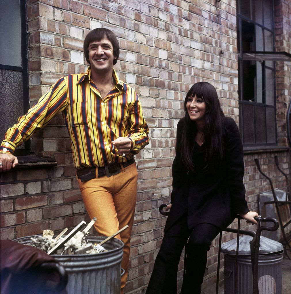 Sonny and Cher posing together | Getty Images